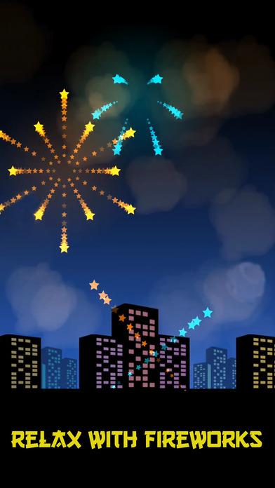 Happy Fireworks Game New Year screenshot 2