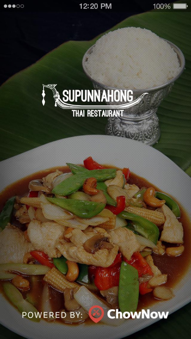 Supunnahong Thai Restaurant screenshot 1