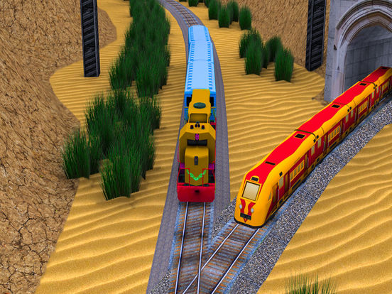 Train Game Simulator : Realistic Train Drive Game screenshot 5