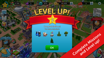 RollerCoaster Tycoon® Touch™ screenshot 5