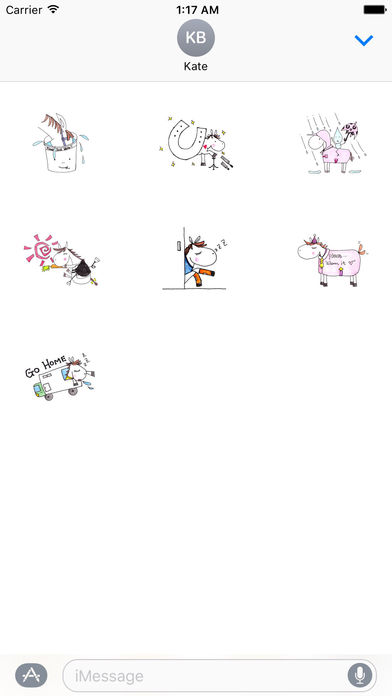 Mare Horse Stickers screenshot 3
