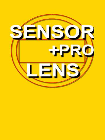 Camera Sensor Lens Calculator Pro - náhled