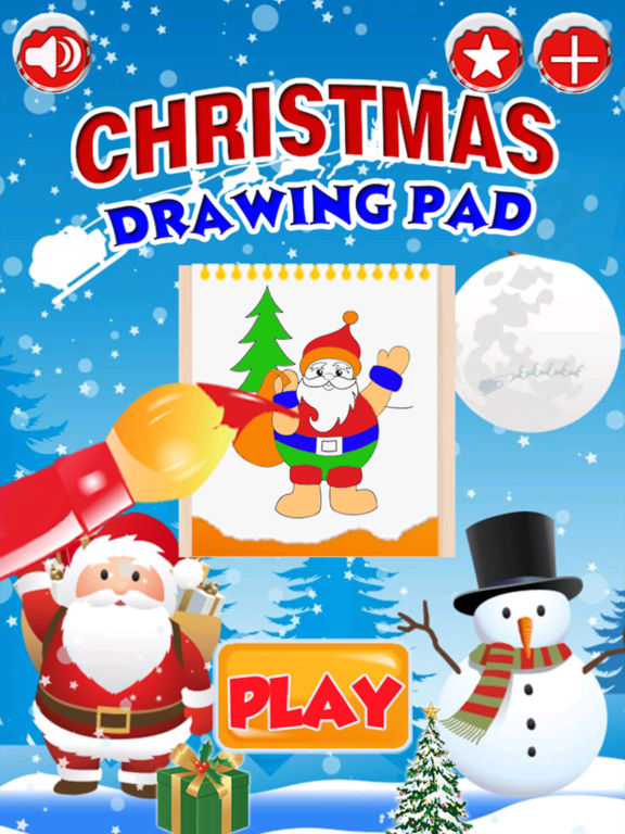 Kids Doodle Drawing Pad - Christmas Coloring screenshot 5