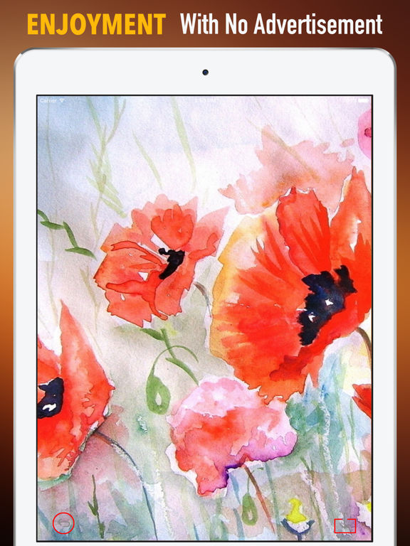 Watercolour Flowers Wallpapers HD- Quotes and Art screenshot 7
