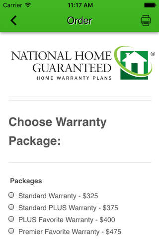 National Home Guaranteed - náhled
