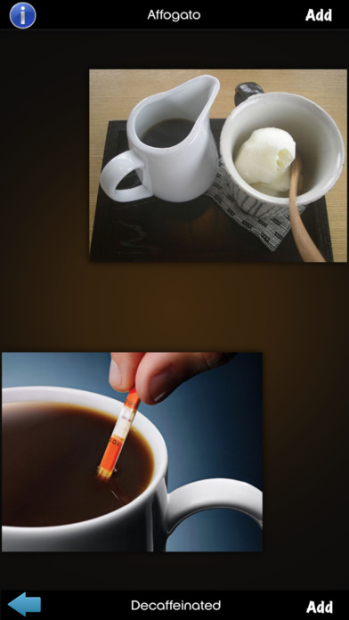Coffee Drinks Info! screenshot 4