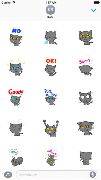 Henry The British Shorthair Stickers screenshot 2