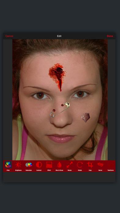 Horror PHOTOLAB Gold screenshot 1