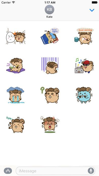 Cute Aries Zodiac Sticker screenshot 3
