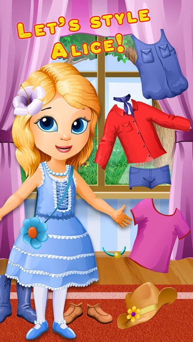 Pretty Alice In Backyard - No Ads screenshot 5