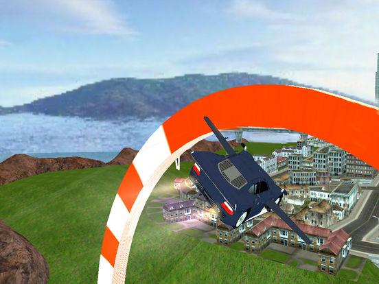 AirBorne Flying Car : Fast Racing Sim-ulator 2017 screenshot 7