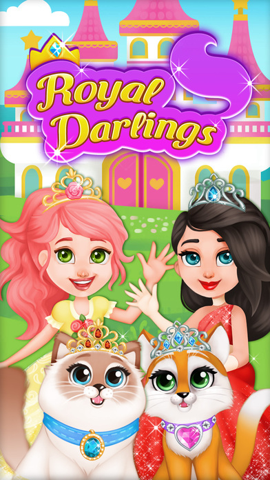 Royal Darlings - Princess and Pet Fun screenshot 1
