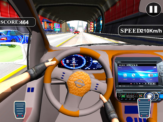 Fast Race In Car : A City Traffic Drive screenshot 5