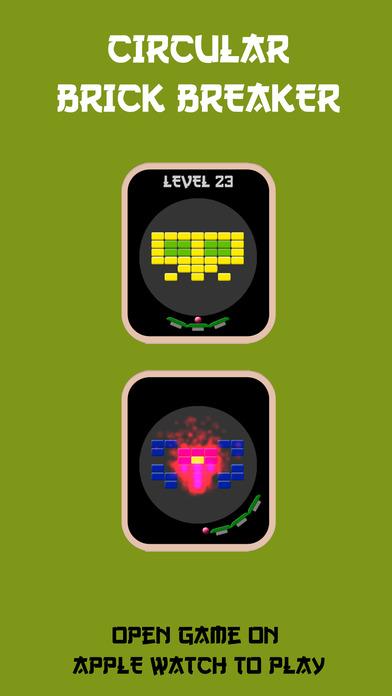 Circular Brick Breaker screenshot 1