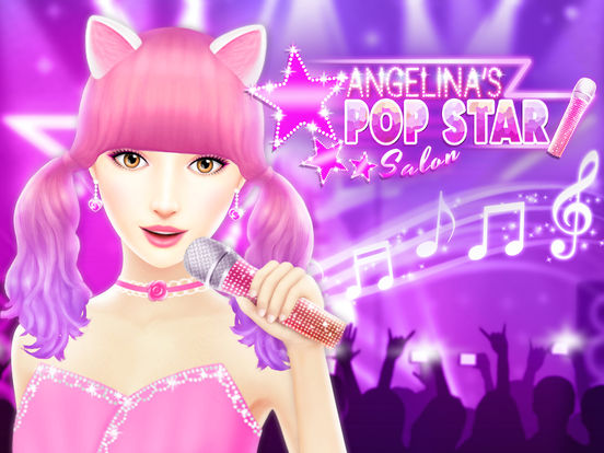 Angelina's Pop Star Salon - Spa & Makeup screenshot 6