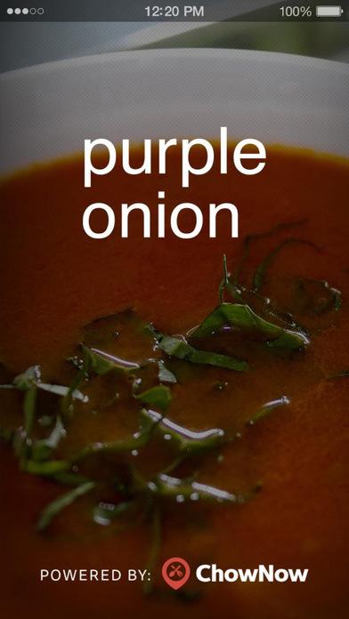 Purple Onion Cafe screenshot 1