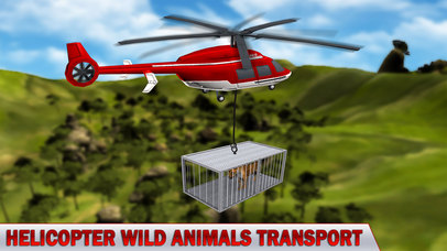 Animal Rescue Helicopter : Heli Flight Simulator screenshot 2