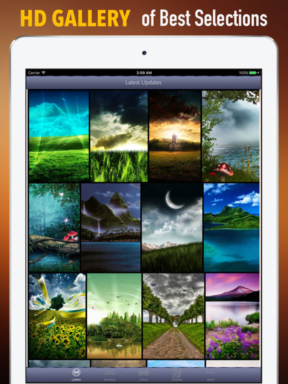 3D Nature Wallpapers HD-Quotes and Art Pictures screenshot 6