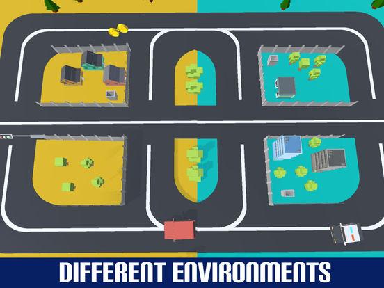 Crazy Circuit Drive Loop Car - Cartoon Crash Taxi screenshot 10