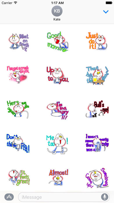 Talking Cat Sticker screenshot 2