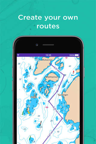 Embark: Your nautical charts for boating - náhled