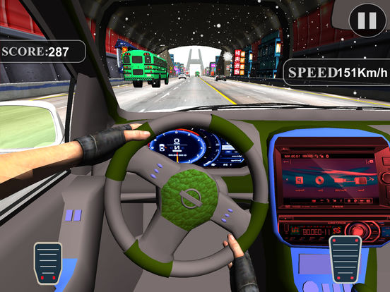 Asphalt Race in Car : A Dashboard view Drive 2017 screenshot 5