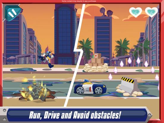 Transformers Rescue Bots: Dash screenshot 7