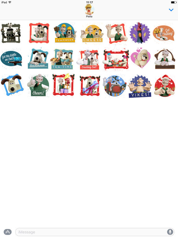 Wallace and Gromit Stickers screenshot 5