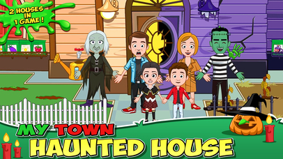 My Town : Haunted House screenshot 1