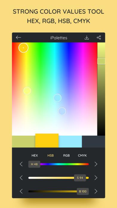 iPalettes - Color palettes screenshot 3