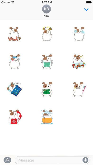Chubby Hamster Sticker screenshot 3