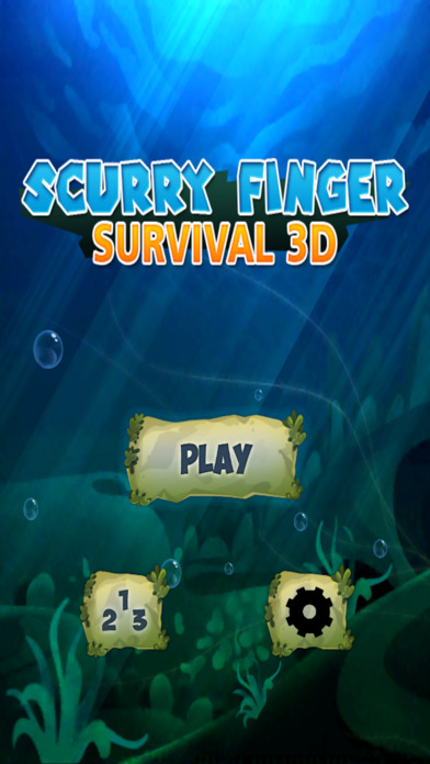 Scurry Finger - Survival 3D screenshot 1