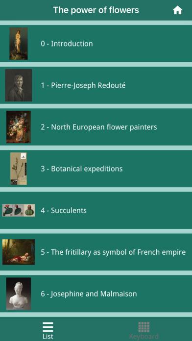 Pierre-Joseph Redouté, the power of flowers screenshot 2