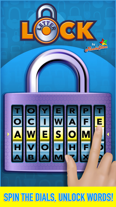 Letter Lock by PuzzleStars screenshot 1