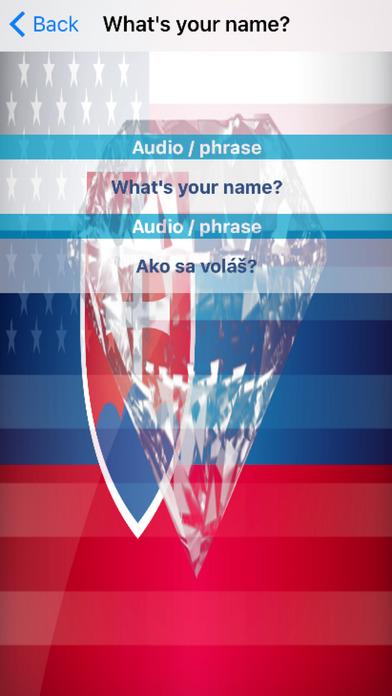 Slovak Phrases Diamond 4K Edition screenshot 3