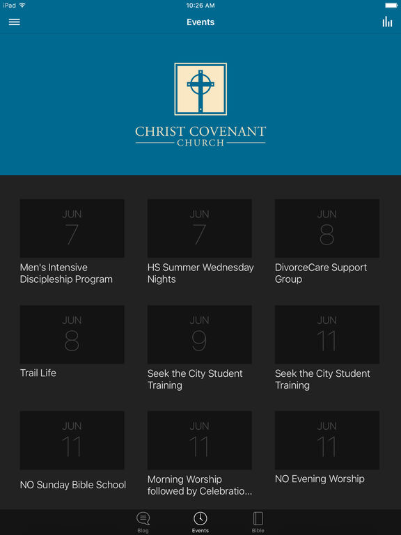 Christ Covenant Church screenshot 5
