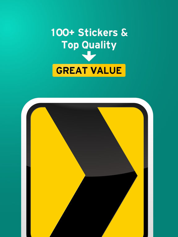100+ Aged Road Signs Sticker Pack (Rusty) screenshot 7