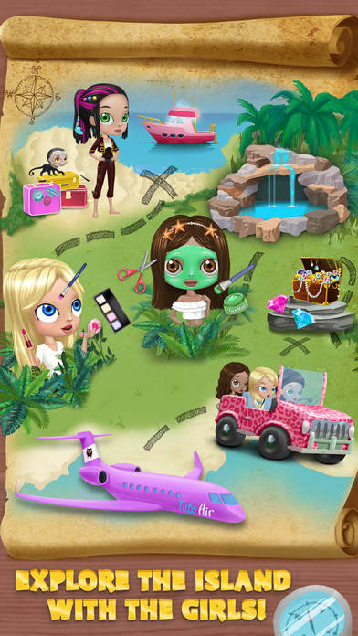 BFF World Trip Hawaii - No Ads screenshot 3