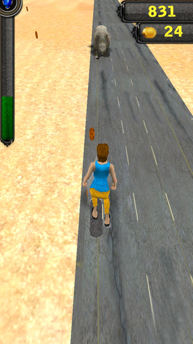 Skating run 3D screenshot 2