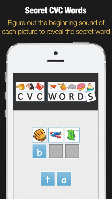Secret CVC Words screenshot 1