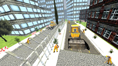 Road Roller and City Builder with Excavator screenshot 4