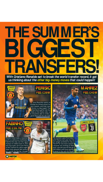 Match Magazine screenshot 4