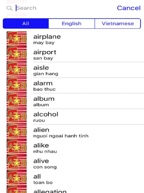 Vietnamese Dictionary GoldEdition screenshot 8