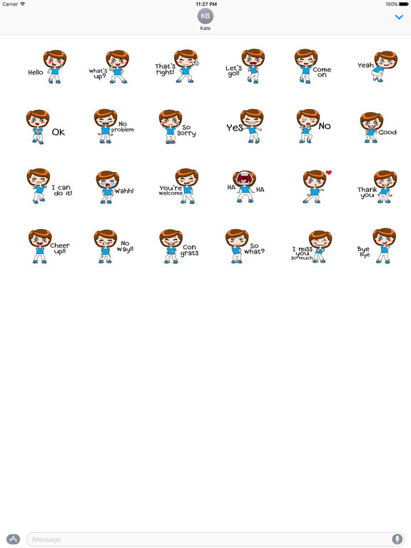 Animated Dancing Mother With Messages Sticker screenshot 3