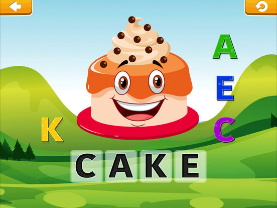 Smart Baby! Food ABC Learning Kids Games for girls screenshot 7
