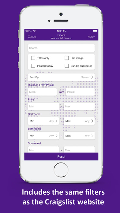 craigslist app for iphone qwilo craigslist mobile app on the app 13905