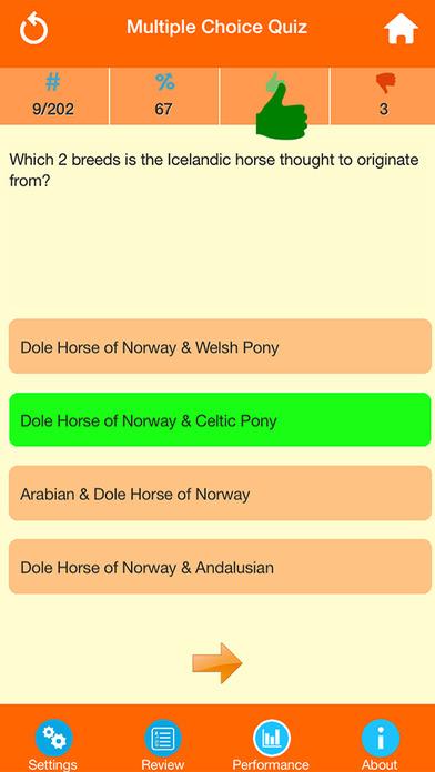 Horse Breeds Quizzes screenshot 3