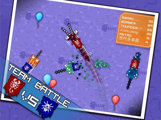 Pixel Sword Fish io screenshot 8