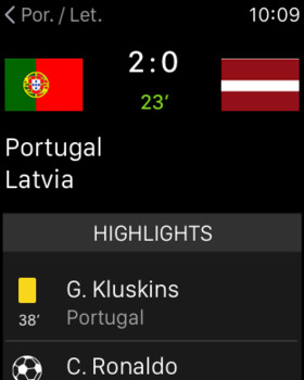 Live Soccer Scores -Skores screenshot 12