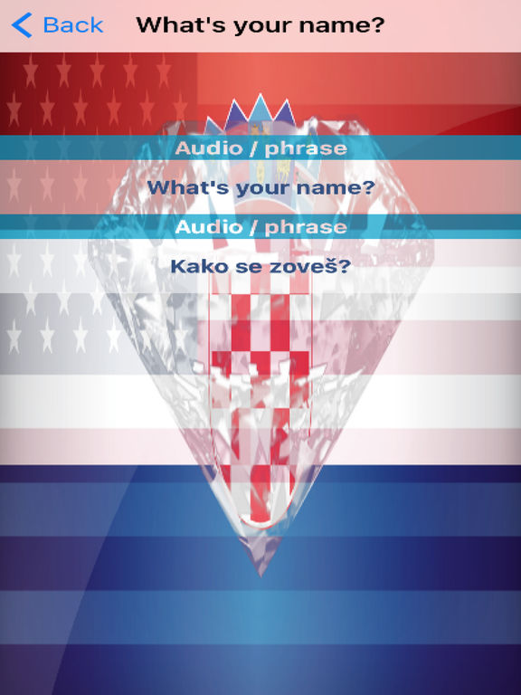 Croatian Phrases Diamond 4K Edition screenshot 6